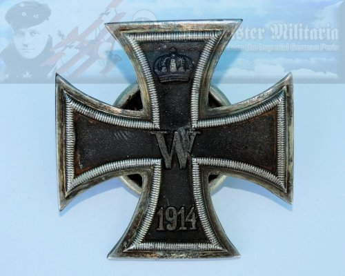 GERMANY - IRON CROSS - 1914 - 1ST CLASS - TWO-PIECE SCREWBACK