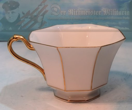 GERMANY - TABLEWARE DINING SET - 22K GOLD TRIMMED - Imperial German Military Antiques Sale