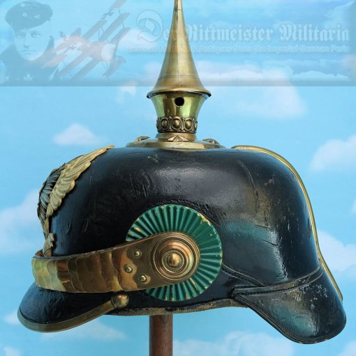 ANHALT - PICKELHAUBE - OFFICER- INFANTERIE-REGIMENT NR 93. - Imperial German Military Antiques Sale