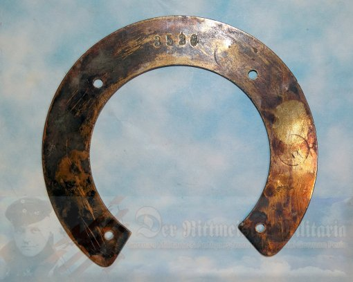GERMANY - PATRIOTIC HORSESHOE - BRASS