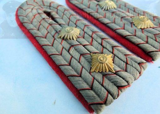 WÜRTTEMBERG - SHOULDER BOARDS - HAUPTMANN - INFANTERIE-REGIMENT - Imperial German Military Antiques Sale