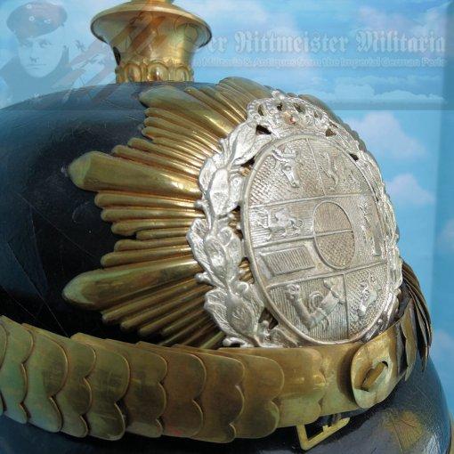 MECKLENBURG-SCHWERIN - KUGELHELM - OFFICER - FELDARTILLERIE-REGIMENT NR 60 - Imperial German Military Antiques Sale