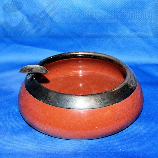 GERMANY - ASHTRAY - CADINEN - Imperial German Military Antiques Sale