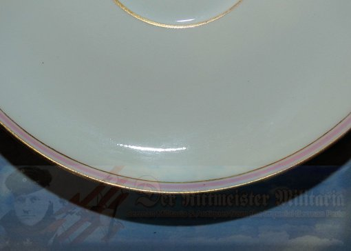 GERMANY - SAUCER - KPM - Imperial German Military Antiques Sale