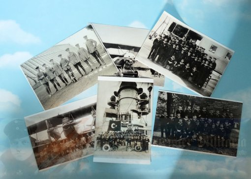 GERMANY- PHOTOGRAPHS - SIX ASSORTED SECOND GENERATION (PHOTOS OF PHOTOS)