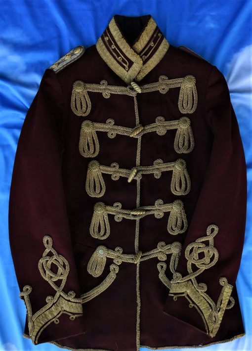 PRUSSIA - ATTILA  - HUSAREN-REGIMENT NR 4  - MOST LIKELY FOR A MEMBER OF THE NOBILITY OR ROYALTY