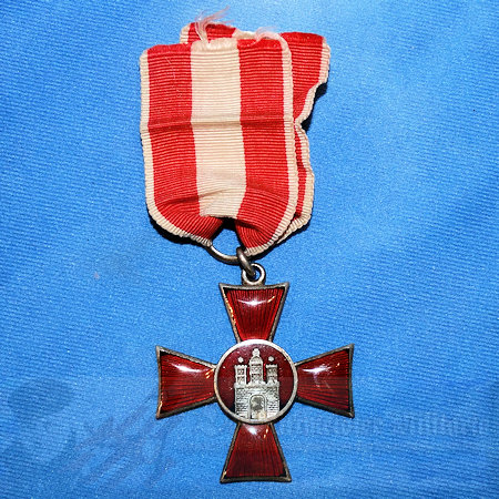 12+Inches German WWI Combat Hindenburg Cross Replacement Medal Ribbon never worn