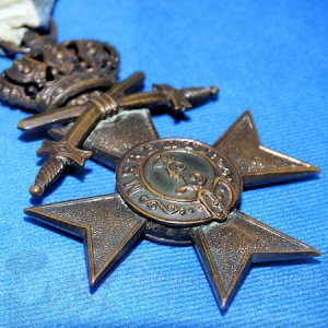 BAVARIA - MERIT CROSS - THIRD CROSS WITH CROWN AND SWORDS
