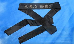 GERMANY - CAP TALLY - ENLISTED MAN - S.M.S. UNDINE
