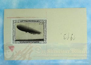 GERMANY - SANKE CARD  - NAVY LUFTSCHIFF L. II - AT JOHANNISTEEL - NR 206