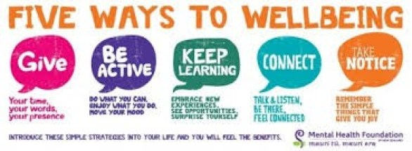 6 ways to wellbeing