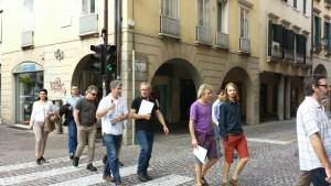 Walking through Padua