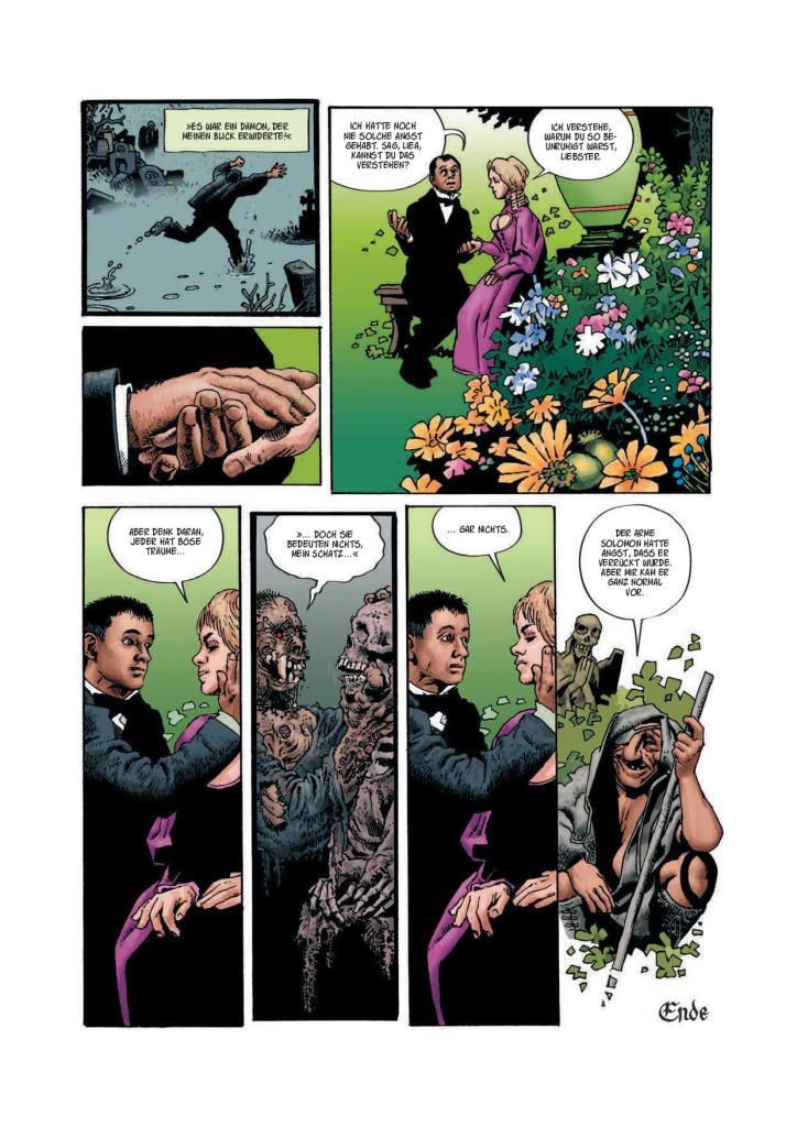 Graphic Novel - Geister der Toten von Richard Corben