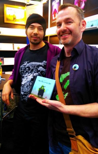 Rudolf Eizenhöfer und Tom Orgel - zwei Ork-Autoren