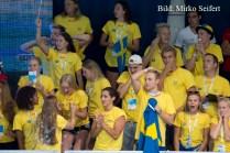 9.7.2016: Hódmezővásárhely. Die Schweden beim 800m F Männer schnellster Lauf.
