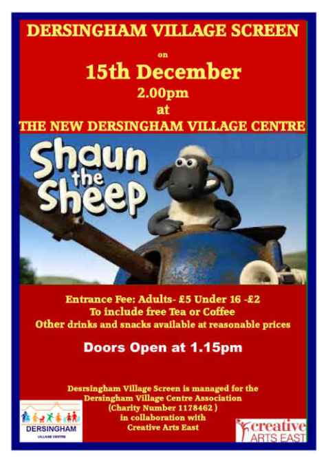 Shaun the Sheep poster 2