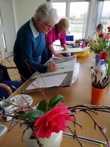 Flower painting workshop 3