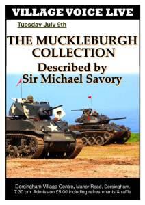 Muckleburgh talk poster