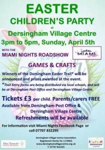poster for easter trail