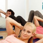 image of pilates group
