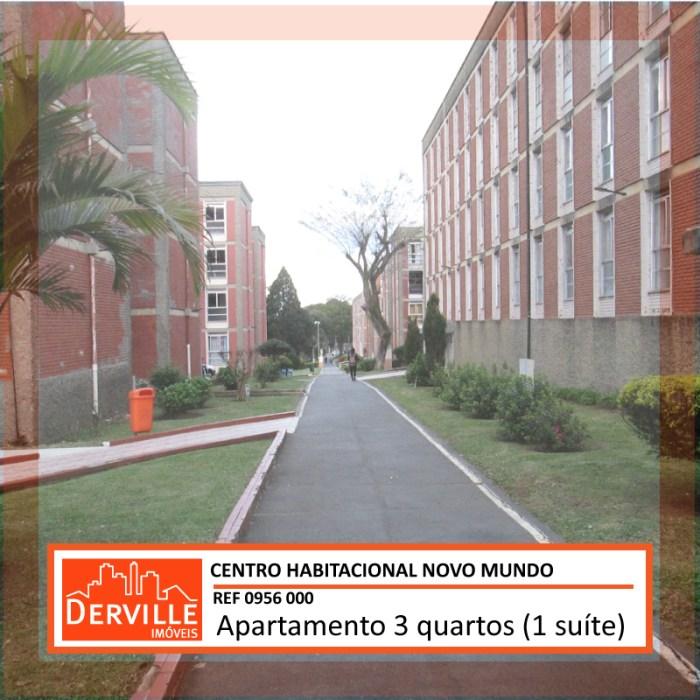 Apartamento reformado no Conjunto Novo Mundo com suite