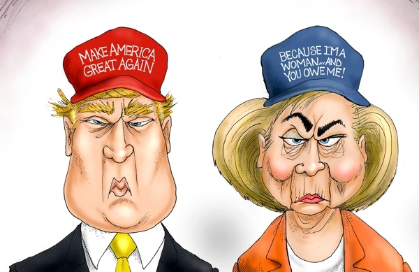 branco-trump-and-hillary1
