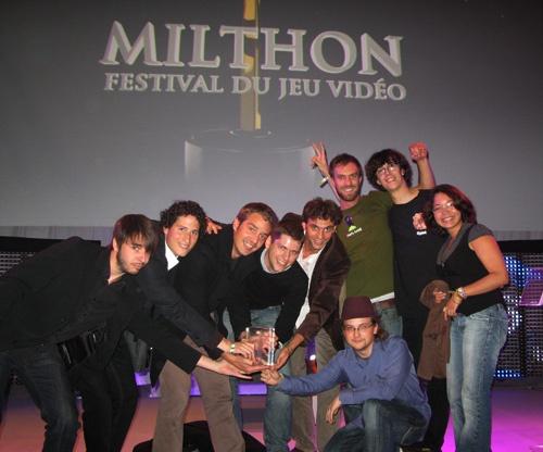Simply-Land.com remporte le Milthon du Meilleur Jeu Vidéo Jeunesse 2009 !