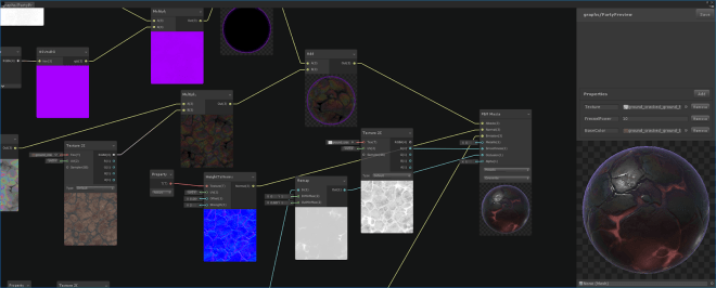 Unity Shader Graph Unity 2018.1 Illustration