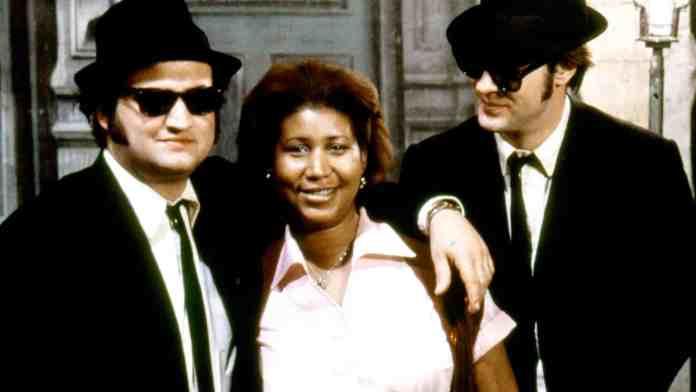 John Belushi, Aretha Franklin e Dan Aykroyd