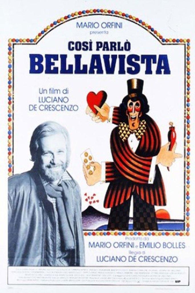 Così parlò Bellavista, la locandina del film