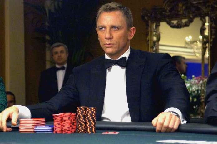 Daniel Craig è James Bond in Casinò Royale