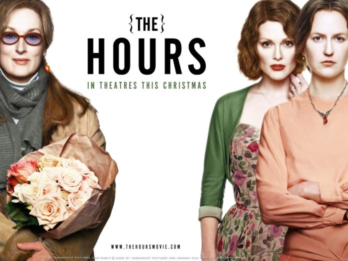 The Hours è un film del 2002 diretto da Stephen Daldry. Con Nicole Kidman nel ruolo di Virginia Woolf, Meryl Streep e Julianne Moore.