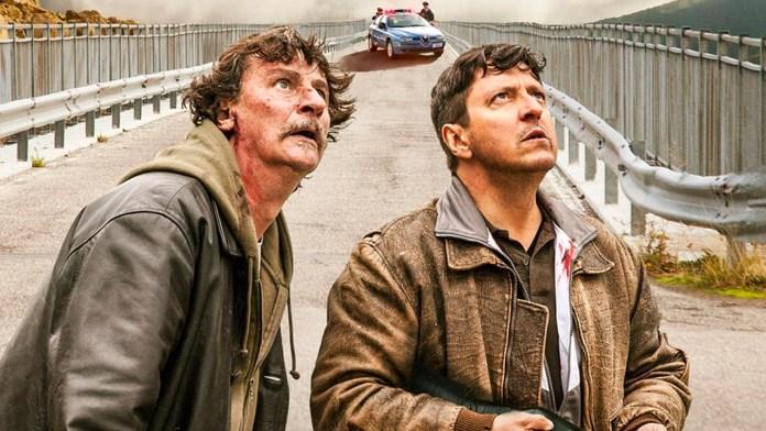 Il grande salto, film del 2019 diretto da Giorgio Tirabassi che lo interpreta assieme all'amico e collega Ricky Memphis.