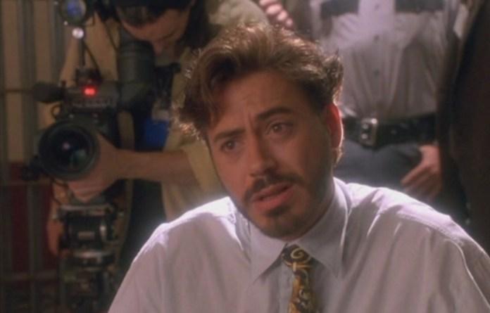 Robert Downey Jr in Natural Born Killers.