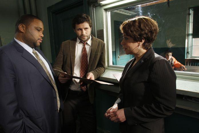 Una scena di Law & Order