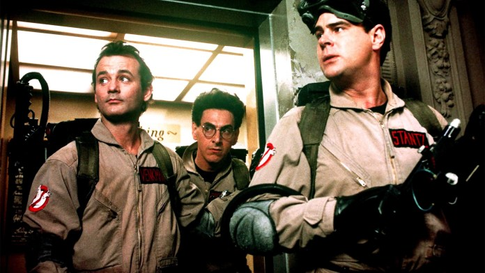 Ghostbusters. Film di Ivan Reitman che fa parte della classifica dedicata a fantasmi nel cinema.
