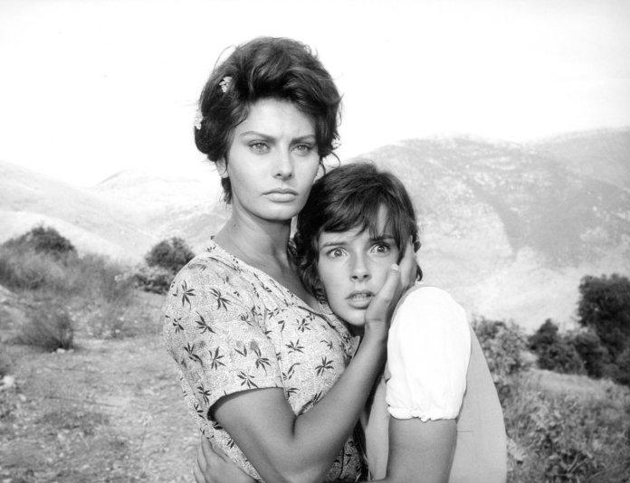 La Ciociara, film del 1960 diretto da Vittorio De Sica e interpretato da una straordinaria Sophia Loren.