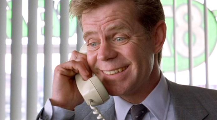 William H. Macy interpreta il povero Jerry Lundegaard nel film Fargo.