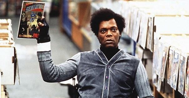 Elijah Price (Samuel L. Jackson) in una scena di Unbreakable
