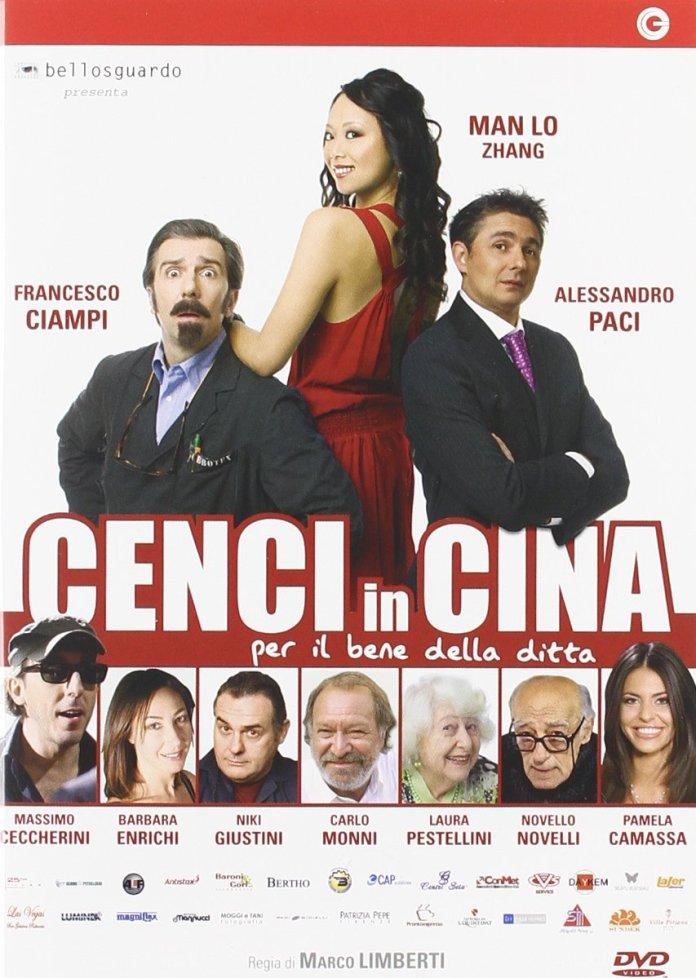 Cenci in Cina, film del 2009 diretto da Marco Limberti e interpretato da Francesco Ciampi e Alessandro Paci.