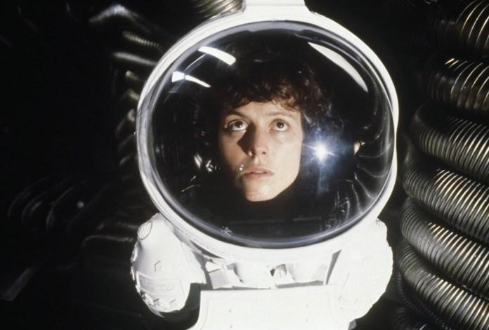 Alien, del 1979, fu il primo film di Sigourney Weaver dopo la sua lunga esperienza in teatro.