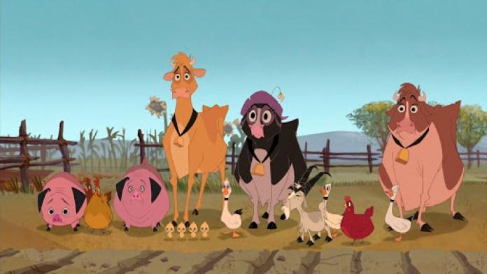 Mucche alla riscossa (Home on the Range(, classico Disney del 2004 diretto da John Sanford e Will Finn.