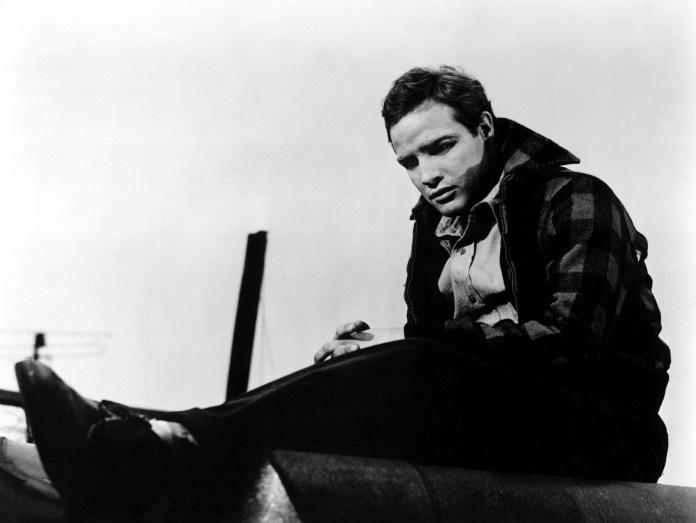 Marlon Brando in Fronte del porto.
