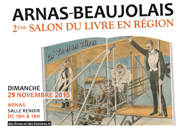 2e salon du livre en région Arnas-Beaujolais