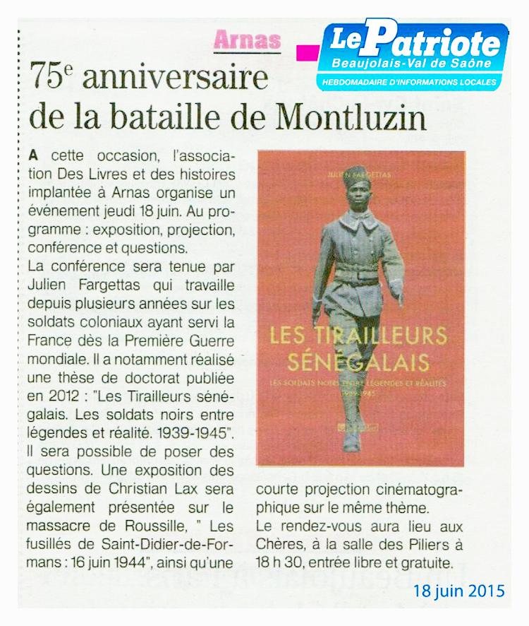 Le Patriote Beaujolais – 150618