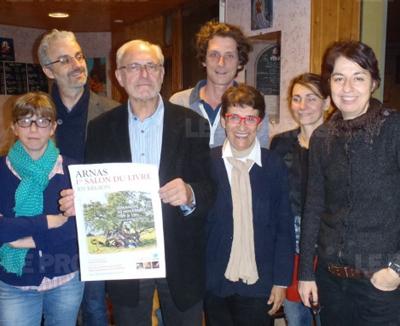L'équipe du salon du livre en Région