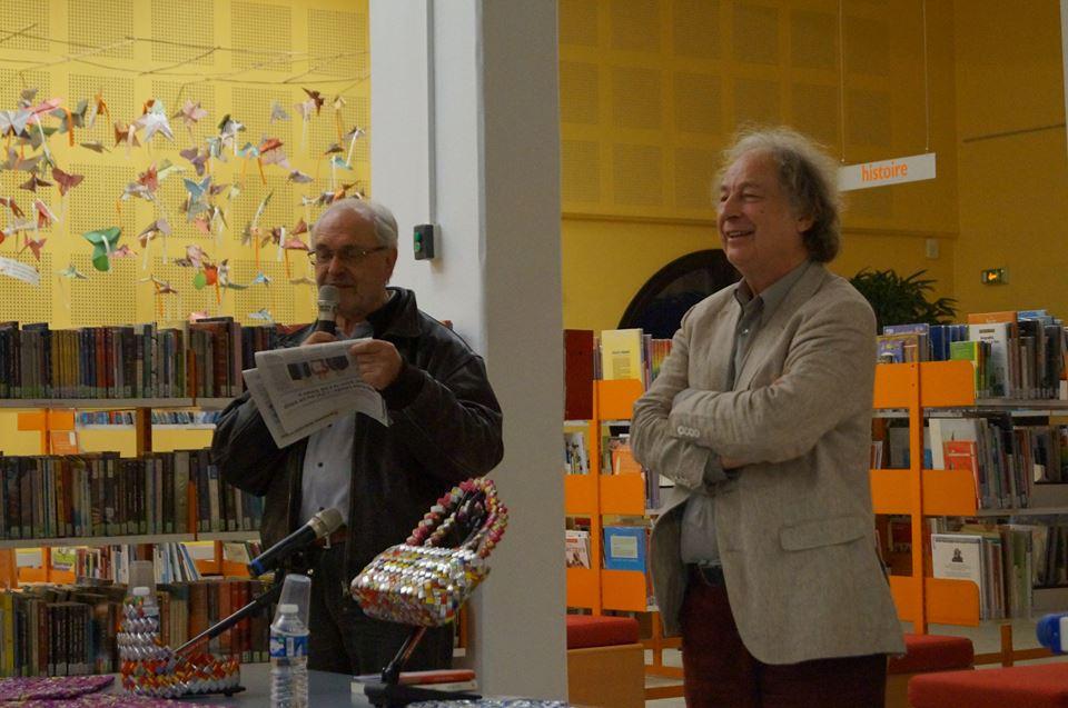Jean-Yves Loude à la Médiathèque de Villefranche