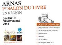 Dossier de presse Salon du livre Arnas 2014