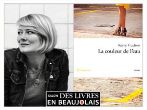 Kerry Hudson invitée du 3e salon Des Livres en Beaujolais
