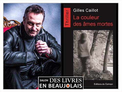 Gilles Caillot invité du 3e salon Des Livres en Beaujolais